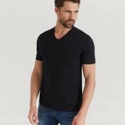 BOSS T-shirt 3-Pk V-neck T-shirt Svart
