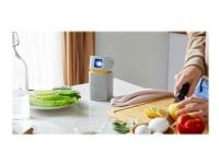 BenQ GV1 - DLP-projektor - LED - 200 ANSI-lumen - WVGA (854 x 480) - 16:9 - Wi-Fi / Bluetooth