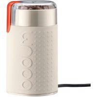 Bodum Bistro Hvit Elektrisk Kaffekvern blank