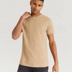 Bread & Boxers T-shirt Crew Neck Cotton Brun