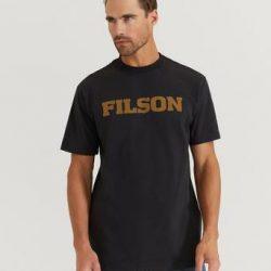 Filson T-Shirt S/S Outfitter Graphic T-shirt Svart