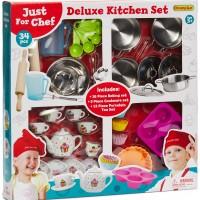 Fippla Kjøkkenredskap Deluxe 34 Deler