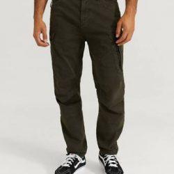 G-Star Bukse Roxic Straight Tapered Cargo Pant Grå
