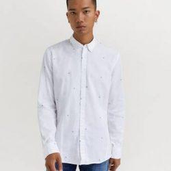 JUNK de LUXE Skjorte Finn Hvit