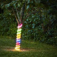 LED-lysslange Flatneon flerfarget