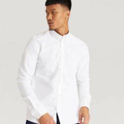 Les Deux Skjorta Christoph Oxford Shirt Hvit