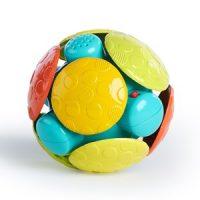 Oball Wobble Bobble™ Crawl and Chase Sensorisk Ball Oransje 0 - 6 months