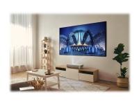 Optoma CinemaX P2 - DLP-projektor - laser - 3D - 3000 ANSI-lumen - 3840 x 2160 - 16:9 - 4K - ultrakortkast linse - 802.11a/b/g/n/ac trådløs / Bluetooth