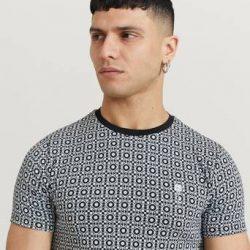 Rose London T-shirt Geometric T-Shirt Svart