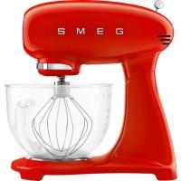 Smeg Kjøkkenmaskin, 4,8 liter, rød m/glasskål