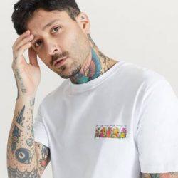 Soulland T-Shirt Bodega Rose Rossell T-shirt Hvit