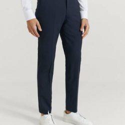 Studio Total Bukse Tyler Suit Trousers Blå