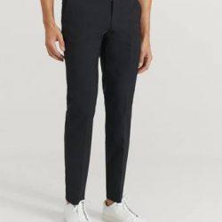 Studio Total Bukse Tyler Suit Trousers Svart