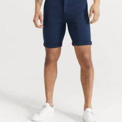 Studio Total Shorts Soft Chino Shorts Blå