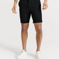 Studio Total Shorts Soft Chino Shorts Svart