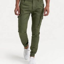 William Baxter Cargobukse Cargo Trousers Grønn