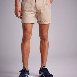 William Baxter Slim Chino Shorts Brun