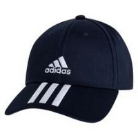 adidas Baseball Caps 3-Stripes Twill - Navy/Hvit