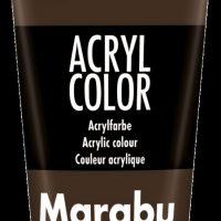 Acrylmaling Marabu 100 Ml 045 Dark Brown