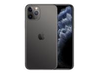 Apple iPhone 11 Pro - Smartphone - dobbelt-SIM - 4G Gigabit Class LTE - 512 GB - GSM - 5.8 - 2436 x 1125 piksler (458 ppi) - Super Retina XDR Display (12 MP-frontkamera) - 3x bakkamera - romgrå