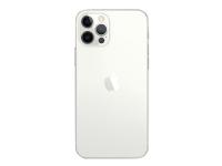 Apple iPhone 12 Pro - Smartphone - dobbelt-SIM - 5G NR - 256 GB - CDMA / GSM - 6.1 - 2532 x 1170 piksler (460 ppi) - Super Retina XDR Display (12 MP-frontkamera) - 3x bakkamera - sølv