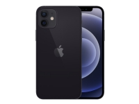 Apple iPhone 12 - Smartphone - dobbelt-SIM - 5G NR - 64 GB - CDMA / GSM - 6.1 - 2532 x 1170 piksler (460 ppi) - Super Retina XDR Display (12 MP-frontkamera) - 2x bakkameraer - svart