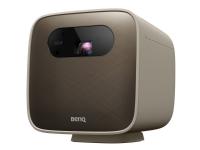 BenQ GS2 - DLP-projektor - LED - portabel - 500 ANSI-lumen - 1280 x 720 - 16:9 - 720p - 802.11a/b/g/n/ac trådløs / Bluetooth