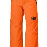 Helly Hansen JR Legendary Skibukse, Neon Orange, 140