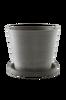 MALCOLM potte med skål - stor