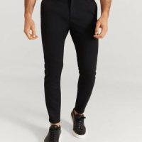 Studio Total Bukse Soft Chino Svart