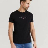 Tommy Hilfiger T-shirt Essential Tommy Tee Svart