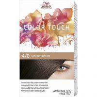 Wella Professionals Care Pure Naturals Color Touch 4/0, Wella Brun hårfarge