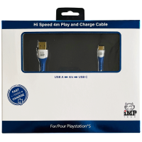 iMP - 4M Braided Fast Charge Play and Charge Cable - A to C