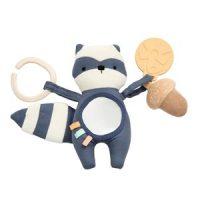 sebra Rebel The Racoon Activity Toy Bramble Blue one size