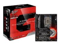 ASRock Fatal1ty X399 Professional Gaming - Hovedkort - ATX - Socket TR4 - AMD X399 - USB-C, USB 3.1 Gen 1, USB 3.1 Gen 2 - Bluetooth, 10 Gigabit LAN, 2 x Gigabit LAN, Wi-Fi - HD-lyd (8-kanalers)