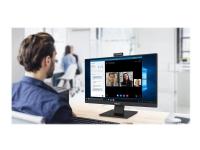 ASUS BE24EQK - LED-skjerm - 23.8 - 1920 x 1080 Full HD (1080p) - IPS - 300 cd/m² - 1000:1 - 5 ms - HDMI, VGA, DisplayPort - høyttalere - svart