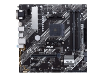 ASUS PRIME B450M-A II - Hovedkort - mikro ATX - Socket AM4 - AMD B450 - USB 3.2 Gen 1, USB 3.2 Gen 2 - Gigabit LAN - innbygd grafikk (CPU kreves) - HD-lyd (8-kanalers)