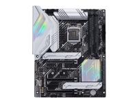ASUS PRIME Z590-A - Hovedkort - ATX - LGA1200-sokkel - Z590 - USB-C Gen2, USB-C Gen1, USB 3.2 Gen 1, USB 3.2 Gen 2, USB-C Gen 2x2 - 2.5 Gigabit LAN - innbygd grafikk (CPU kreves) - HD-lyd (8-kanalers)