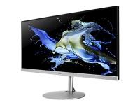 Acer CB342CK - LED-skjerm - 34 - 3440 x 1440 UWQHD @ 75 Hz - IPS - 250 cd/m² - 700:1 - 1 ms - 2xHDMI, DisplayPort, USB-C - høyttalere - svart, sølv