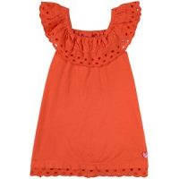 Agatha Ruiz de la Prada Ruffle Kjole Oransje 3 år