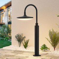 Arcchio Fineria LED-sokkellampe av aluminium