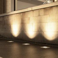 Arcchio Pavelo gulvinnfellingslampe E27 IP67
