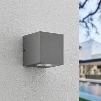 Arcchio Tassnim LED-vegglampe sølv 1 lyskilde