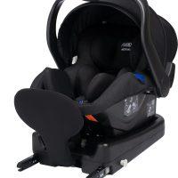 Axkid Modukid Infant Babybilstol, Black Inkl. Base