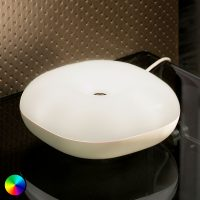 Bordlampe Move med USB-port, bevegelseskontroll