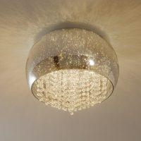 Caelum – blank LED-taklampe