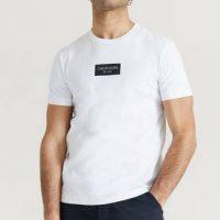Calvin Klein T-shirt Chest Box Logo T-Shirt Hvit