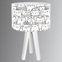 Cats søt bordlampe til barnerommet