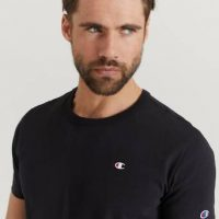 Champion Reverse Weave T-shirt Crewneck Svart