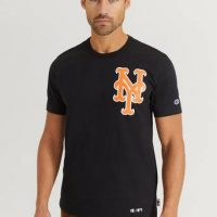 Champion Reverse Weave T-shirt Crewneck T-Shirt Svart